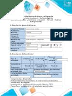 Guia de actividades y Rubrica de evaluacion - Tarea 2 - Realizar trabajo escrito.docx