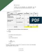 Calculo de Calibre de Conductores Lote 38