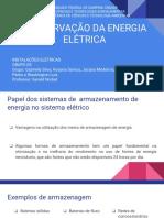 Instalações Elétricas - Conservação Da Energia Elétrica
