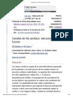 Canales de Na Cardíaco_ Estructura a Función