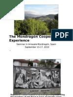 Mondragon PP on Mayor McLaughlin's Trip