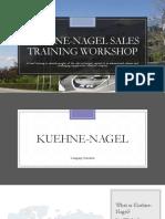 KUEHNE-NAGEL Sales Training Workshop