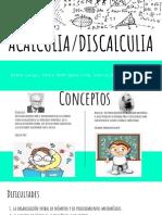 Acalculia-Discalculia