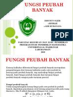 FUNGSI PEUBAH BANYAK.pptx