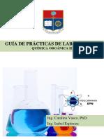 Guia de Laboratorio Quimica OrganicaII 2019B