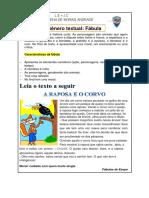 Genero Textual Fabula