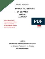 La Reforma Protestante. Unidad Didáctica v Centenario (1)