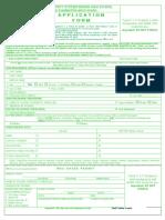 Application Form Shs Ee 2017