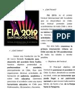 Prospecto FIA 2019