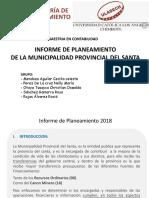 Informe de Planeamiento