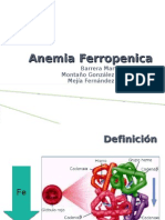 Anemia Ferropenica y as