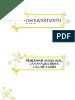 Analisis Biaya Volume Dan Laba
