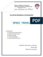 PLAN DE NEGOCIOS SPACE TRAVEL