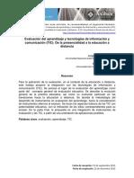 M4_Evaluación Del Aprendizaje y Tecnologías de Información y Comunicación