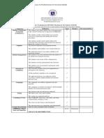 Comprehensive Evaluation for Spg Form