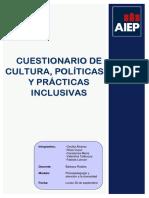 Encuesta Psicopedagogia y Atencion a La Diversidad (Falta Conclusión)