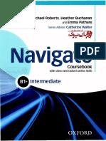 Navigate StudentBook and WorkBook B1+