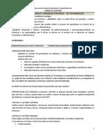 Evaluación FODA 2019