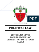 Golden Notes - Political Law