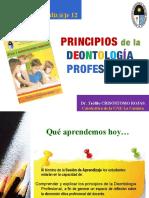 Principios de La Deontologa Profesional