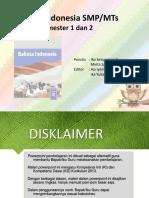 Materi Bahasa Indonesia Kelas 9 Lengkap