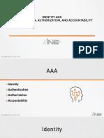 03-Identity - Authentication - Authorization - Accounting