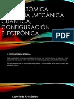 quimica  TEORUA ATOMICA