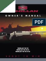 TAC-50 Owner's Manual
