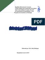 Guia Excel 2010 Parte 1