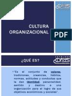 Aplicación nueva cultura organizacional.