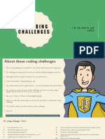 50 JavaScript Coding Challenges for beginners