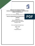 Normas complementarias instalaciones hidraulicas