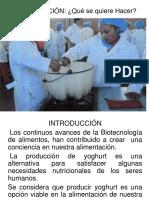 Ejemplo Proyecto Yogurt