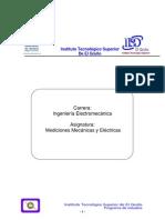 Mediciones Mecanicas y Electric As
