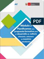 PROPUESTA FORMATIVA PARA EL DESARROLLO DE CULTURA TRIBUTARIA Y ADUANERA