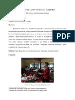 La Oratoria Como Estrategia Academica (Original)