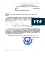 Contoh Surat Penetapan Workshop Kontrak Pengadaan Alat Kesehatan - LKPP