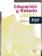 Educación y Estado-Albergucci