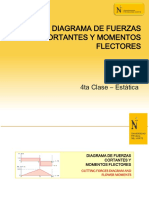 4ta Clase - Diagrama de Fuerzas Cortantes y Momentos Flectores(1)