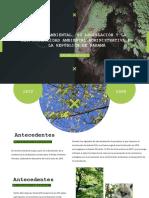 Derecho Ambiental Panama
