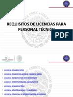 Requisitos-Licencias DGAC