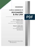 Psychiatry & the Law