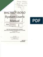 Bd Bactec 9050 User Manual Compressed