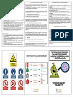 Bio seguridad en los laboratorios