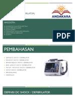 Dc shock (defibRilator).pptx