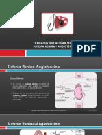 14. Fármacos que actúan sobre el sistema renina-angiotensina