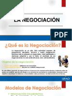 La Negociación en los conflictos