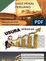 Diapositivas Usura