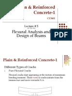 Lec-5-Flexural Analysis and Design of Beamns