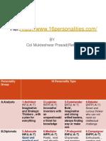 16pfpersonality Ss